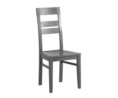 Titan Gray French Oak Chair (set of 2)