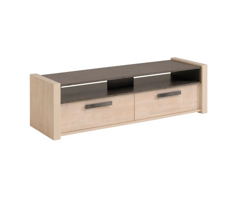 Wild TV Stand / Unit with 2 Drawers and Shelves
