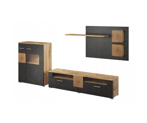Wobona TV Wall Unit Set