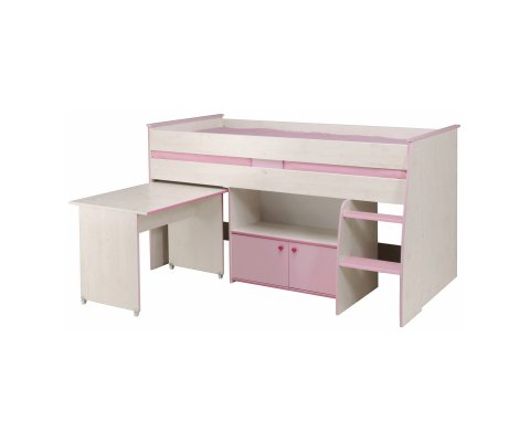 Zoe Midsleeper Bed (mattress included)
